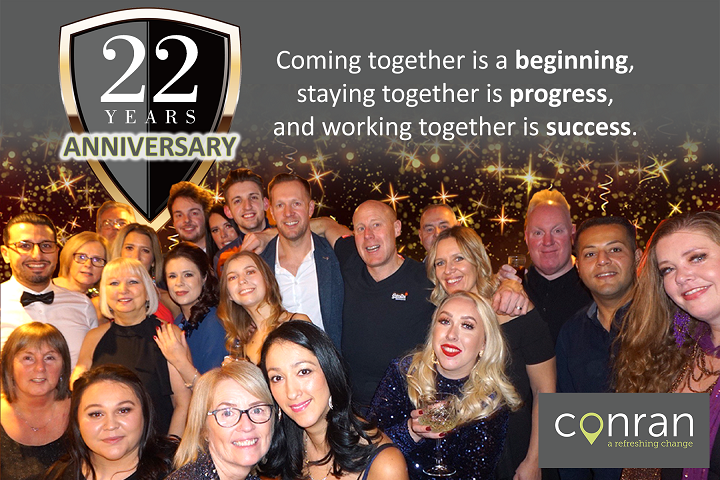 Conran Team Anniversary